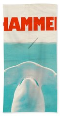 Hammer Beach Towel by Eric Fan