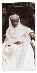 Harriet Tubman Portrait 1911  Beach Sheet by Unknown