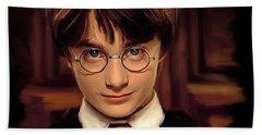Harry Potter Beach Sheet by Paul Tagliamonte