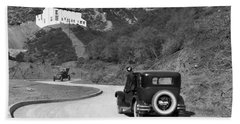 Hollywoodland Beach Towel by Underwood Archives