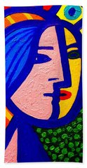 Homage To Pablo Picasso Beach Towel by John  Nolan