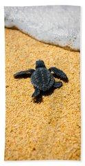 Home Beach Towel by Sebastian Musial