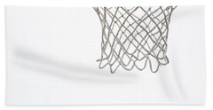 Hoops Beach Towel by Karol Livote