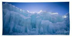 Ice Castle Beach Sheet by Edward Fielding