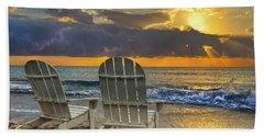 In The Spotlight Beach Sheet by Debra and Dave Vanderlaan