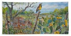 Meadowlark Beach Sheet by Don Hand