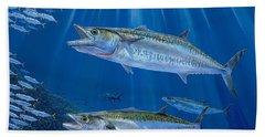 Kingfish Reef Beach Towel by Carey Chen