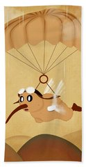 Kiwi  Beach Towel by Mark Ashkenazi