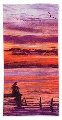 Lost In Wonder Beach Towel by Jane Small
