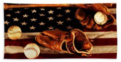 Louisville Slugger Beach Towel by Dan Sproul
