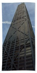 Low Angle View Of A Building, Hancock Beach Towel by Panoramic Images
