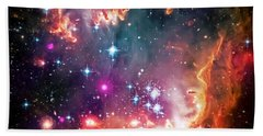 Magellanic Cloud 2 Beach Towel by Jennifer Rondinelli Reilly - Fine Art Photography