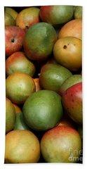 Mangoes Beach Sheet by Carol Groenen
