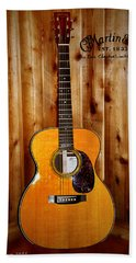 Martin Guitar - The Eric Clapton Limited Edition Beach Sheet by Bill Cannon
