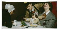 Merrymakers Beach Sheet by Charles Emile Auguste Carolus-Duran
