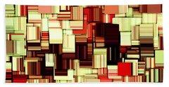 Modern Abstract Art Xvii Beach Towel by Lourry Legarde