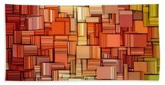 Modern Abstract Viii Beach Towel by Lourry Legarde