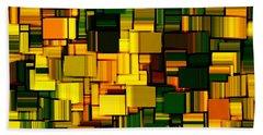 Modern Abstract Xxii Beach Towel by Lourry Legarde