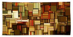 Modern Abstract Xxiii Beach Towel by Lourry Legarde