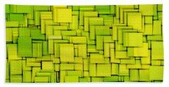 Modern Abstract Xxxiii Beach Towel by Lourry Legarde