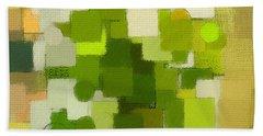 Modern Abstract Xxxv Beach Towel by Lourry Legarde