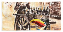 Molly Malone Beach Towel by Miki De Goodaboom