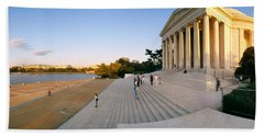 Monument At The Riverside, Jefferson Beach Towel by Panoramic Images