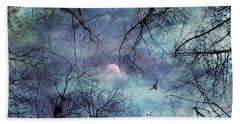 Moonlight Beach Sheet by Stelios Kleanthous