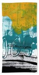 Morning Ride Beach Sheet by Linda Woods