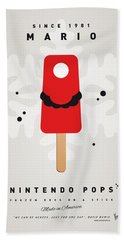 My Nintendo Ice Pop - Mario Beach Sheet by Chungkong Art