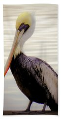 My Visitor Beach Towel by Karen Wiles