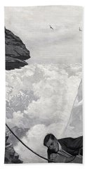 Nearly There Beach Sheet by Arthur Herbert Buckland