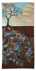 Neither Praise Nor Disgrace Beach Towel by James W Johnson