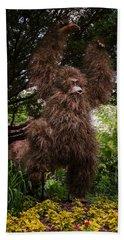 Orangutan Beach Towel by Joan Carroll