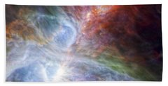 Orion's Rainbow Of Infrared Light Beach Towel by Adam Romanowicz