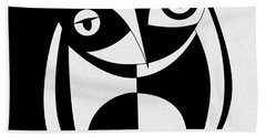 Own Abstract  Beach Towel by Mark Ashkenazi