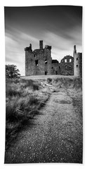 Path To Kilchurn Castle Beach Towel by Dave Bowman