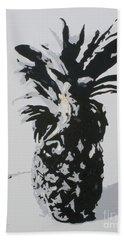Pineapple Beach Towel by Katharina Filus