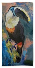 Rainforest Toucan Beach Towel by Michael Creese