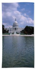 Reflecting Pool With A Government Beach Towel by Panoramic Images