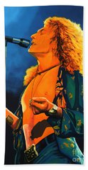 Robert Plant Beach Sheet by Paul Meijering
