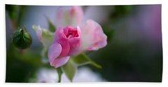 Rose Emergent Beach Sheet by Rona Black