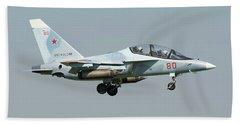 Russian Air Force Yak-130 Landing Beach Sheet by Daniele Faccioli
