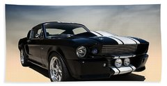 Shelby Super Snake Beach Towel by Douglas Pittman