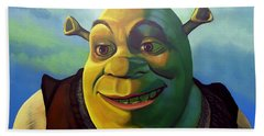 Shrek Beach Towel by Paul Meijering