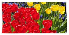 Spring Sunshine Beach Towel by Carol Groenen