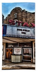 Stax Records Beach Sheet by Stephen Stookey