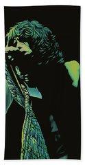 Steven Tyler 2 Beach Sheet by Paul Meijering