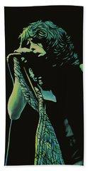 Steven Tyler 2 Beach Towel by Paul Meijering