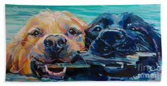 Stick It Beach Towel by Kimberly Santini